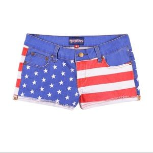 Shoes - Tipsy Elves Liberty Jean Shorts